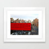Soon-Park-Car Framed Art Print
