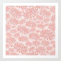 Go Orient Chrysanthemum Art Print