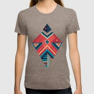 Arrow 06 Womens Fitted Tee Tri-Coffee MEDIUM