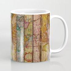 Around the World in Thirteen Maps Mug