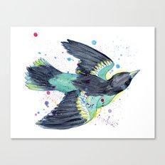 Serendipidty Sparrow Canvas Print