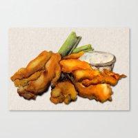 Buffalo Chicken Canvas Print