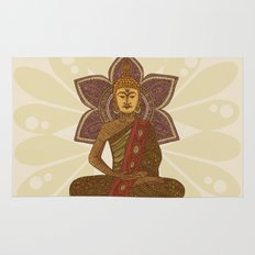 Sitting Buddha Rug