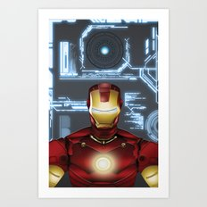 Iron-Man Art Print