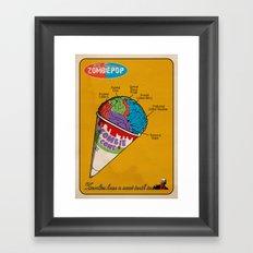 Zombie Cone Framed Art Print