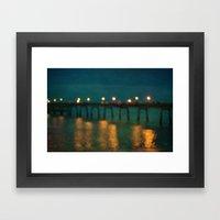 Deal After Sunset 2 Framed Art Print