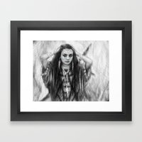 The Traveler Framed Art Print