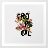 Tropical I Art Print