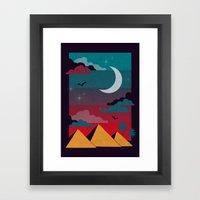 Giza Framed Art Print