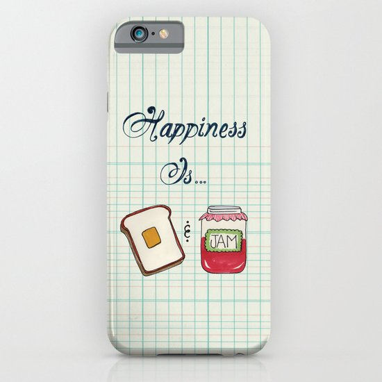 Happiness Is Toast & Jam iPhone & iPod Case
