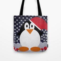 christmas pinguin Tote Bag
