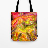Psychedelic Vision Tote Bag