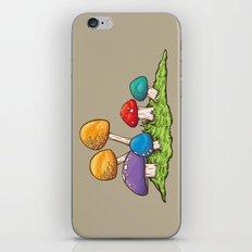 Mushrooms (Colors) iPhone & iPod Skin