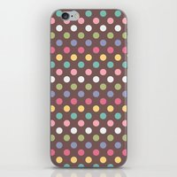 Color Dots iPhone & iPod Skin