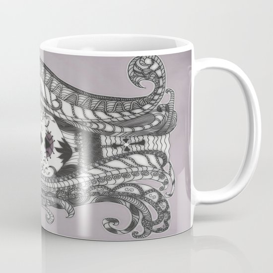FLOWER CANDY SKULL Mug