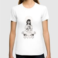 The Girl With Half a Lung Womens Fitted Tee White SMALL