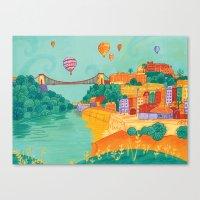 Bristol Canvas Print