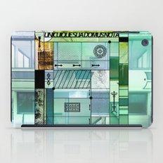 Unicuique sua domus nota B #everyweek 41.2016 iPad Case
