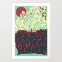 The Wind Rises: English Version Art Print