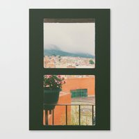Through My Window Canvas Print