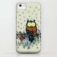 Owl In The Snow V2 iPhone 5c Slim Case