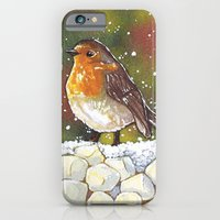 iPhone & iPod Case featuring Robin by heatherinasuitcase