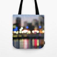 The City Never Sleeps Tote Bag