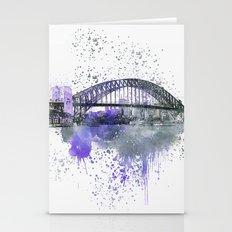 Sydney Harbor Bridge II Stationery Cards