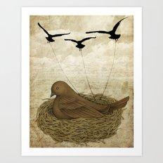 The Returning Children Art Print
