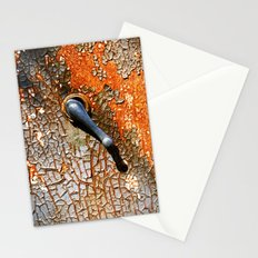 Gas Pump Handle Stationery Cards