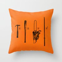 Pulp Makers Throw Pillow