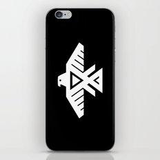 Thunderbird flag - Inverse edition version iPhone & iPod Skin