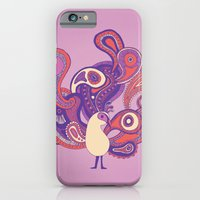 Purple Paisley Peacock iPhone 6 Slim Case