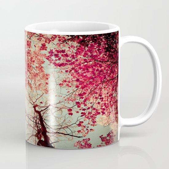 Autumn Inkblot Mug