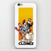 Clones iPhone & iPod Skin