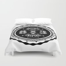 Motivate & Inspire Duvet Cover