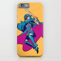 iPhone & iPod Case featuring Critical Hit by Blue