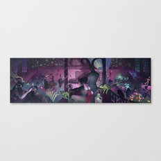Midnight Cabaret Canvas Print
