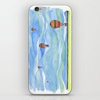 Float Away iPhone & iPod Skin