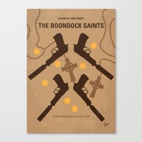 No419 My BOONDOCK SAINTS minimal movie poster Canvas Print