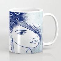 Parrot Girl Mug