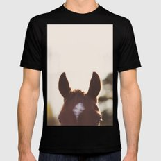 I'm all ears. Black Mens Fitted Tee SMALL