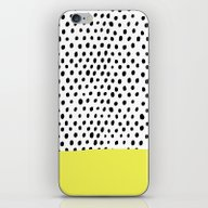 Polka Dot Rain Dip iPhone & iPod Skin