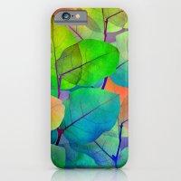 Translucent Leaves iPhone 6 Slim Case