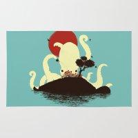 Octopus's Garden Rug