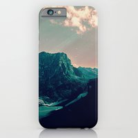 iPhone Cases featuring Mountain Call by Schwebewesen • Romina Lutz