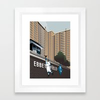 Ther Used To Be A Ballpa… Framed Art Print