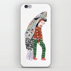 Fish Man iPhone & iPod Skin