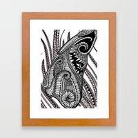 Engagement Wing Framed Art Print