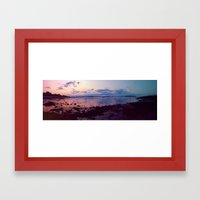 Portland, Maine (panoramic) Framed Art Print